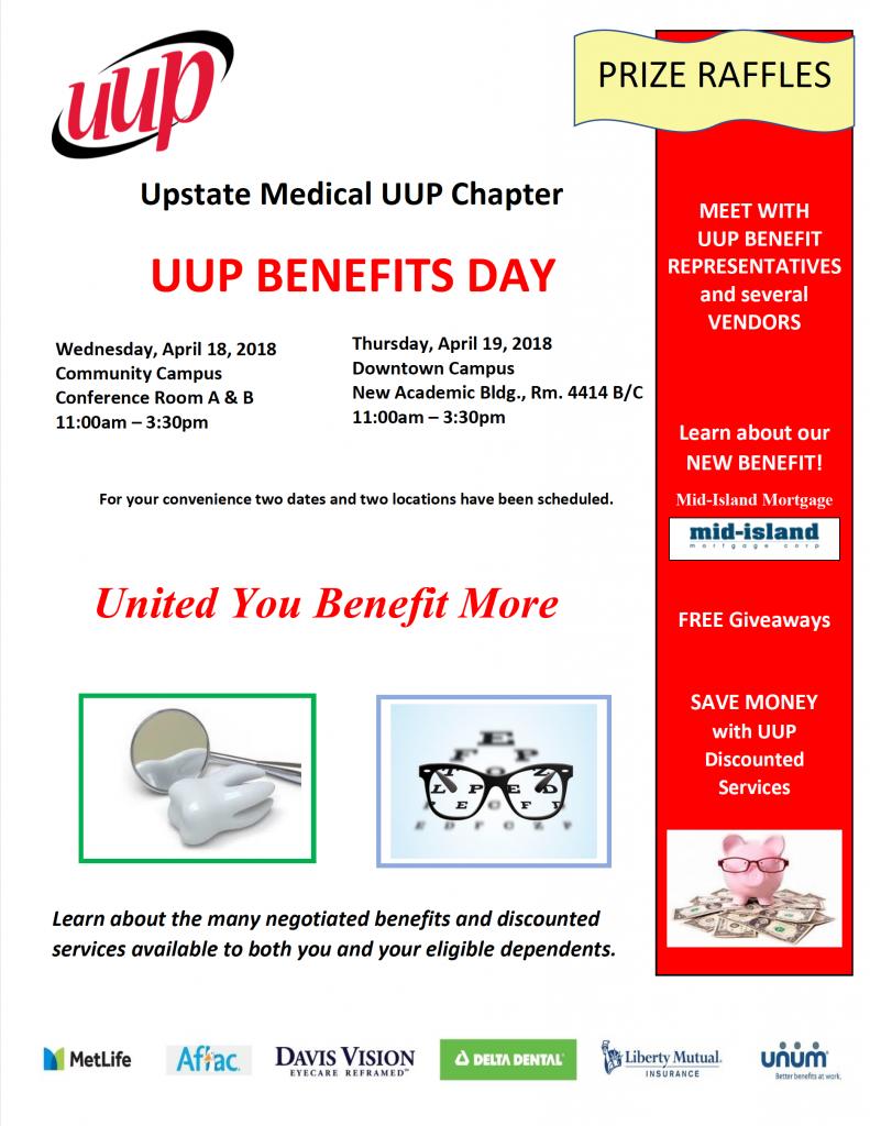 UUP Benefits Flyer